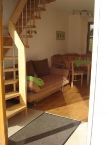 Wohn-/Esszimmer mit Fussbodenheizung